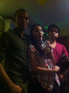 David, Jossie and Erwin