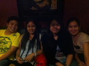 Lope, Haifa, Marica and Ate Kat