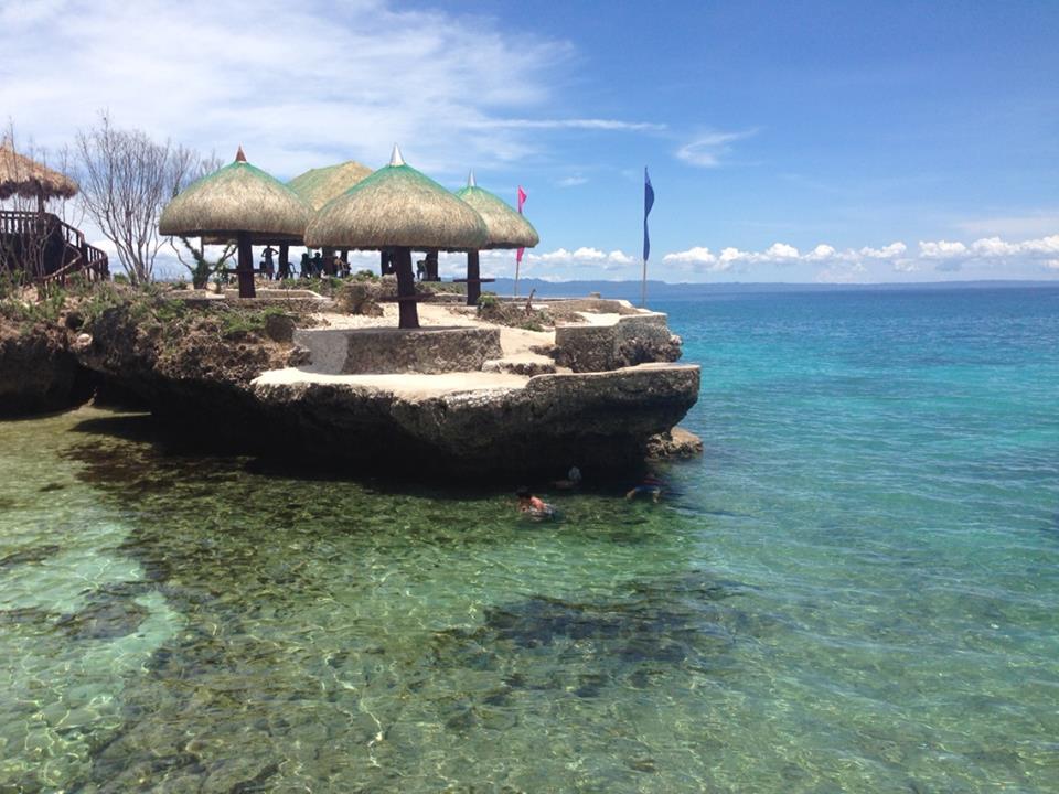 Buho Rock Camotes Islands Cebu Philippines