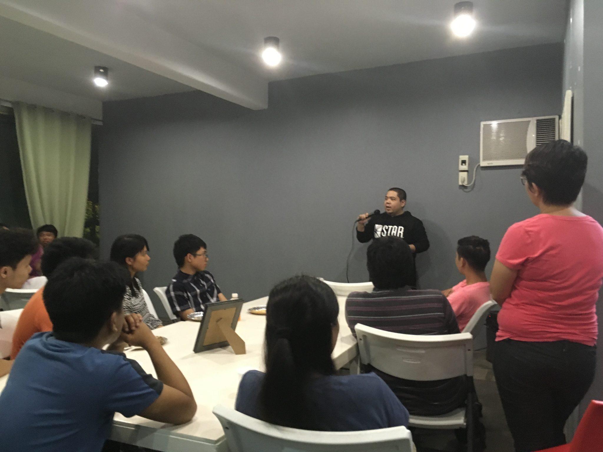 Jingo Rodriguez, DevCon Iloilo Chapter Head on Intro to DevCon and its activities in Iloilo